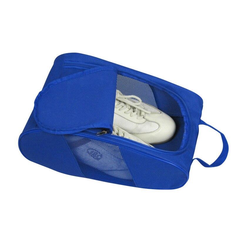 Voyages Sac À Chaussures Portable Étanche De Stockage Chaussures Fourre-Tout Voyage Organisateur Vêtements Cas Poche avec Maille Respirante sac pour chaussures