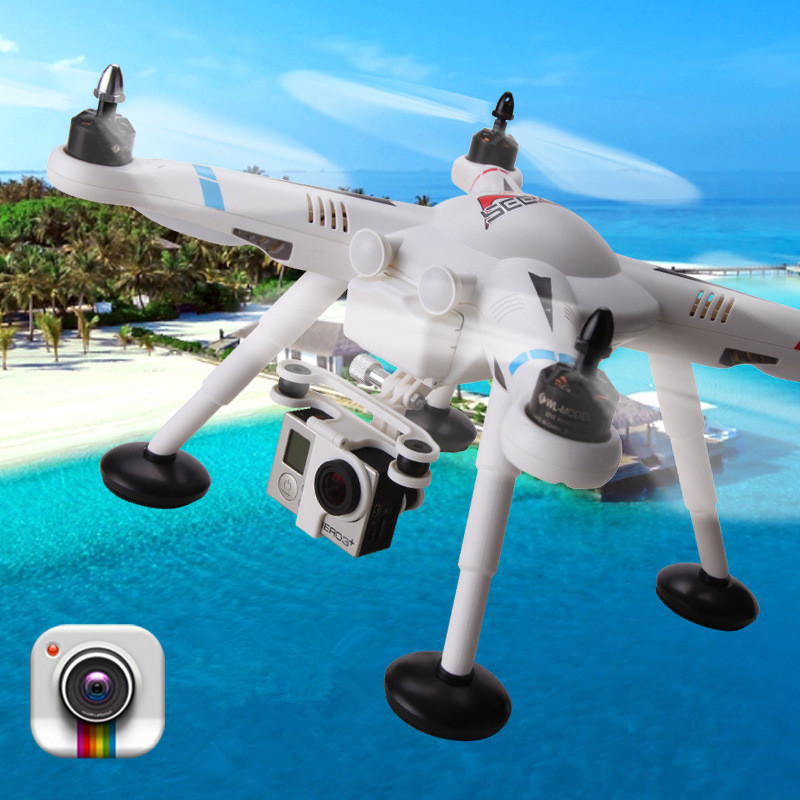 Professional rc drone V303 2.4G 6-axis gyro Quadcopter with camera auto-return and gps system remote control drone toy best gift 2016 new listing 898c 2 4g 4ch 6 axis gyro rtf led light remote control quadcopter auto return drone toy