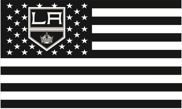NHL <font><b>Los</b></font> <font><b>Angeles</b></font> Kings <font><b>Flag</b></font> <font><b>3</b></font> <font><b>X</b></font> <font><b>5</b></font> FT 150 <font><b>X</b></font> 90 cm 100D polyester <font><b>banner</b></font> <font><b>flag</b></font> 1139