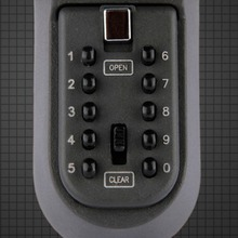 Electronic In Safe Box Iron Wall Hanging Key Code lock Thick