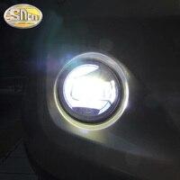 For Mitsubishi ASX RVR L200 OUTLANDER 2 PAJERO 4 V87/V97 Sport GALANT Grandis 6000K 12V DRL Fog Lamps Lighting LED Lights
