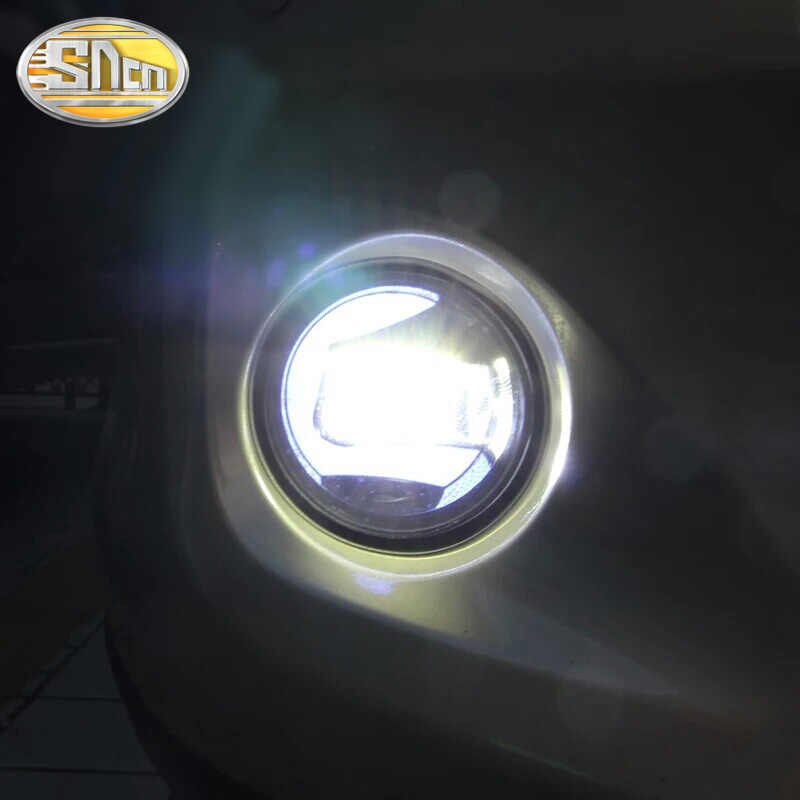 LED DRL מקרן ערפל מנורה עבור סובארו פורסטר BRZ XV אימפרזה WRX STI עבור רנו Koleos Fluence עבור Jeep Renegade צ 'ירוקי