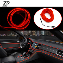 ZD Accessori Auto Per VW Passat B5 B6 Polo Golf 4 5 6 Chevrolet Cruze Lada Granta RAM Interno Lampada Decorativa Luci LED Strip