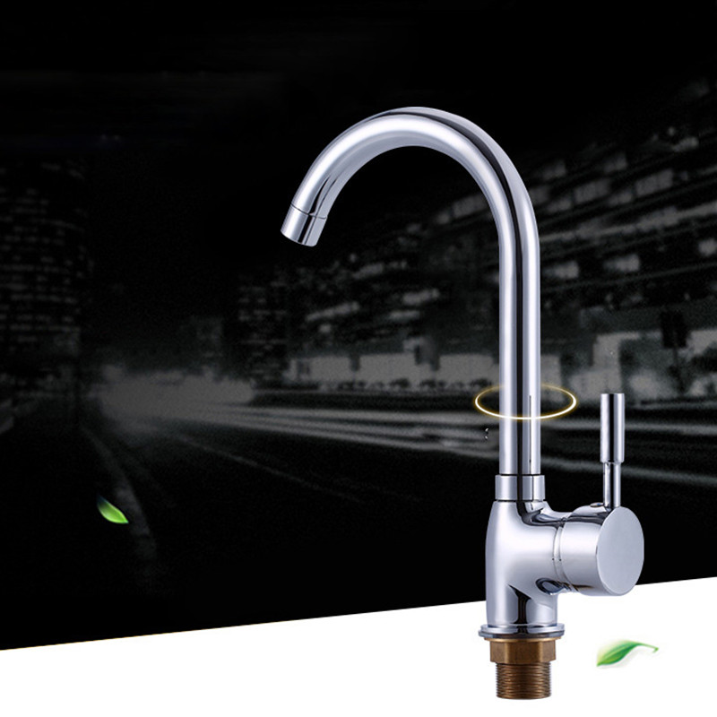 Free shipping Hot sale brass kitchen sink faucet with single handle kitchen water faucet by polished