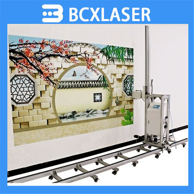 DIY house decoration automatic horizontal wall printer for painted inside and outside wall on hot sale
