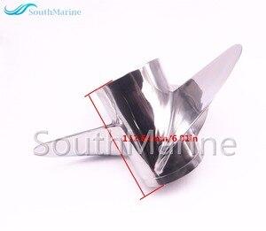 Image 5 - Boot Motor Rvs Propeller 13x17 K Voor Yamaha 60HP 70HP 75HP 80HP 85HP 90HP 115HP 130HP Buitenboordmotor 13x17 K