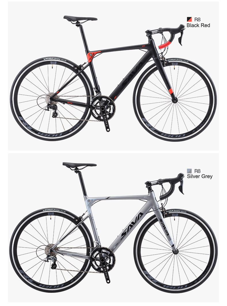 HTB1GOkCA29TBuNjy0Fcq6zeiFXa5 SAVA R8 Carbon Road Bike Taxes free Road Bike Carbon Bike with SHIMANO 18 speed Road bicycle Retro City bike complete Bici citta