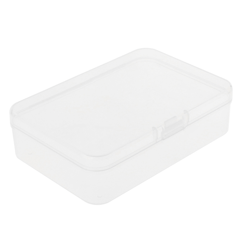 OOTDTY Fishing Hook Box Transparent Tackle Storage Jig Case Visible Lure Baits Plastic Holder