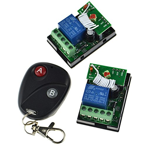 12vdc Remote Controller 1 Transmitter 2 Receiver Kit For