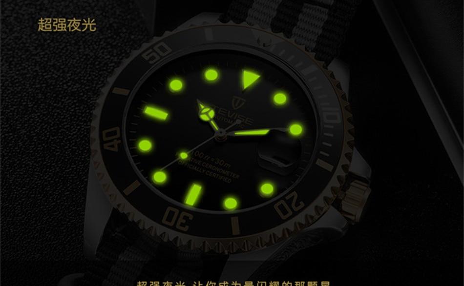 HTB1GOkRKkKWBuNjy1zjq6AOypXal Tevise Luxury Waterproof Automatic Men Mechanical Watch Auto Date Full Steel Business Top Brand Man Watches Water Resistant T801