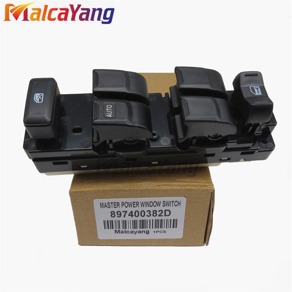 цена на Master Power Window Switch 897400382D For Isuzu D-max 2003 2004 2005 2006 2007 2008 2009 2010 2011