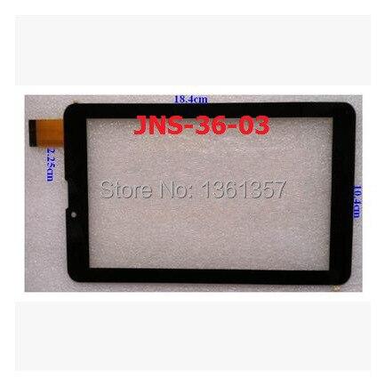 Новый 7 дюймов tablet емкостной сенсорный экран JNS-36-03 черный бесплатная доставка