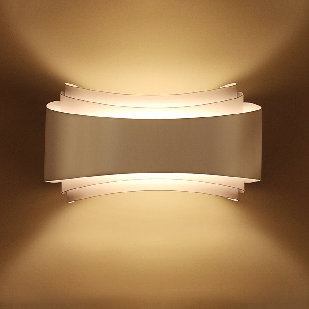 Minimalism Led Wall Lamp 10w Lamp Pipe Peacock Sconce