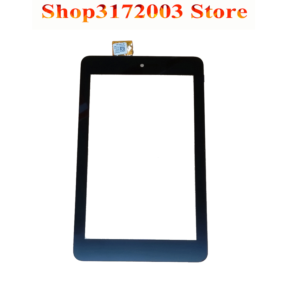 100% Test Black For Dell T01C Venue 7 3730 3740 Front Touch Screen Digitizer Panel Glass Sensor bqt high quality digitizer touch screen 7inch for dell venue 7 tablet 3740 3730 touch screen with digitizer panel front glass