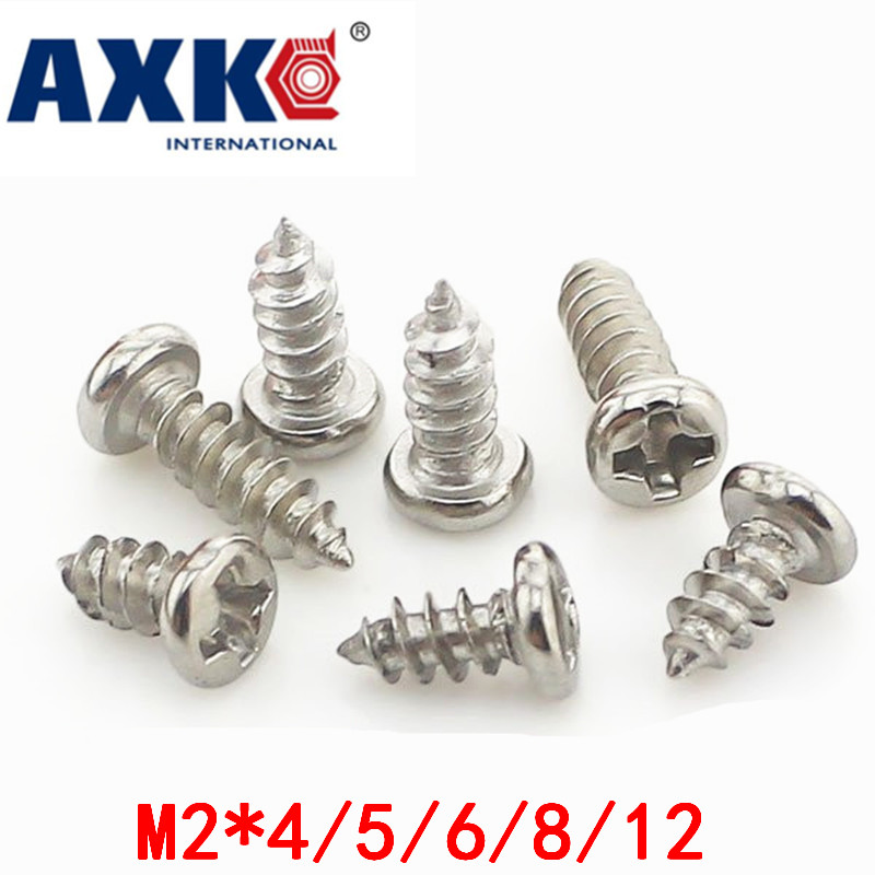 2018 Hot Sale New Vis Low Price Round Head Self-tapping Screws / Micro-head Electronic Small M2*4/5/6/8/12 Gb845 good price mini magnetic head head 1mm with low price