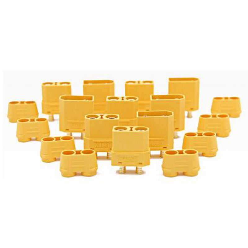 10pcs/lot Amass XT90 Battery <font><b>Connector</b></font> Set <font><b>4.5mm</b></font> Male Female Gold Plated Banana Plug (5 pair) image