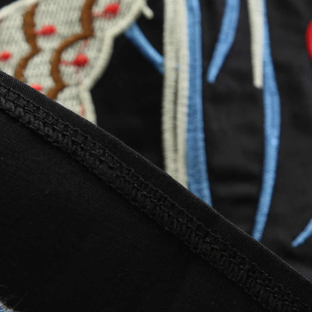 Sovalro вышивка рыбий принт винтажное платье для женщин с круглым вырезом без рукавов летнее платье черное Ретро рокбилли халат Feminino Vestidos