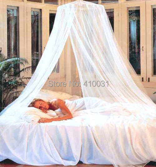 DREAMMA White Round Net Mosquito Repeller Gauze Princess Mesh Bed Canopy Outdoor Canapy Play Tent Bedroom & DREAMMA White Round Net Mosquito Repeller Gauze Princess Mesh Bed ...
