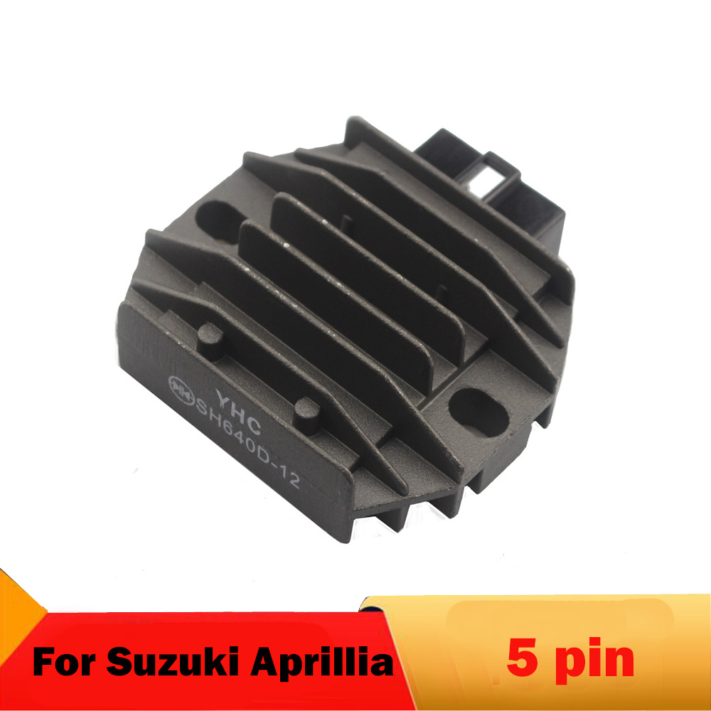 Motorcycle Regulator For Suzuki <font><b>DR</b></font> 650 1996-2012 XF Freewind 650 1997-2007 For Aprilia Mojito 125 2003-2008 Scarabeo <font><b>200</b></font> 2003-07 image