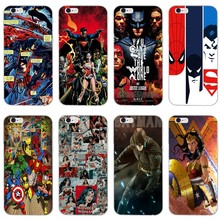 Batman SpiderMan Wonder woman For Huawei Mate 20 10 lite pro 9 8 Y9 Y7 Y6 prime Y5 Y3 II GR5 2017 2018 2019 case Soft cover(China)