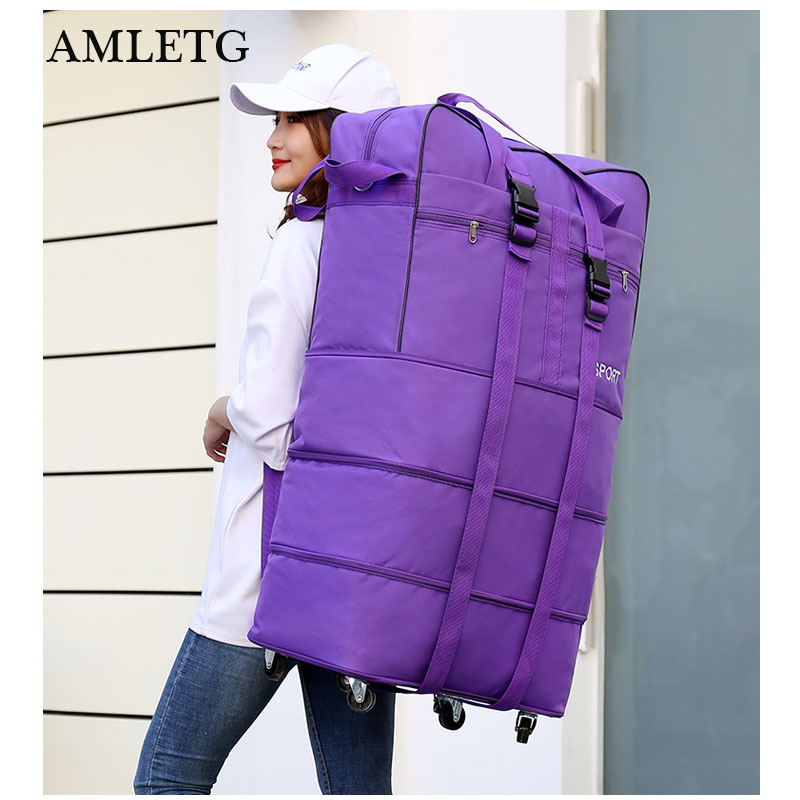 Travel Luggage Wheel Travel Bag Free Shipping Air Transport Abroad Travel Bag Luggages Universal Wheel Collapsible Mobile Bags