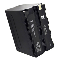 NP F970 NP F960 lithium batteries F960 Digital camera battery For Sony DCR VX2100 HDR AX2000 FX1 FX7 FX1000