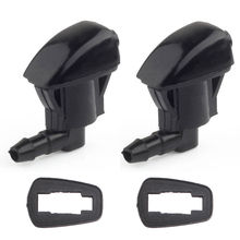2Pcs Front Windshield Washer Wiper Spray Nozzle For Jeep Grand Cherokee 2005-2010