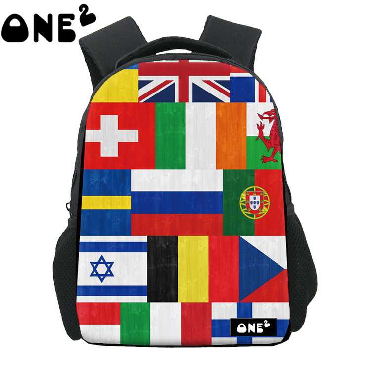 a61bf9f836cb ONE2 Design football match parttern printing famous brand backpack brand  names extreme sports backpack kids school bag-in Backpacks from Luggage    Bags on ...