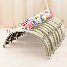 Free Shipping /12 color /16.5CM Sweet lollipop candy bead purse frame, bronze purse frame / Wholesale