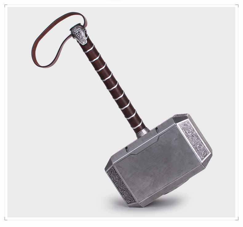 1 1 Scale Thor Hammer Mjolnir 1 1 Replica Thor Custom Cosplay Hammer With Display Stand