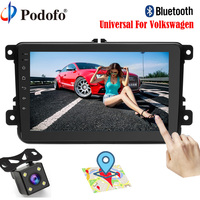 Podofo Car Radio Autoradio GPS Navigation 8 Bluetooth 2 Din Car Audio Player Android 6 0