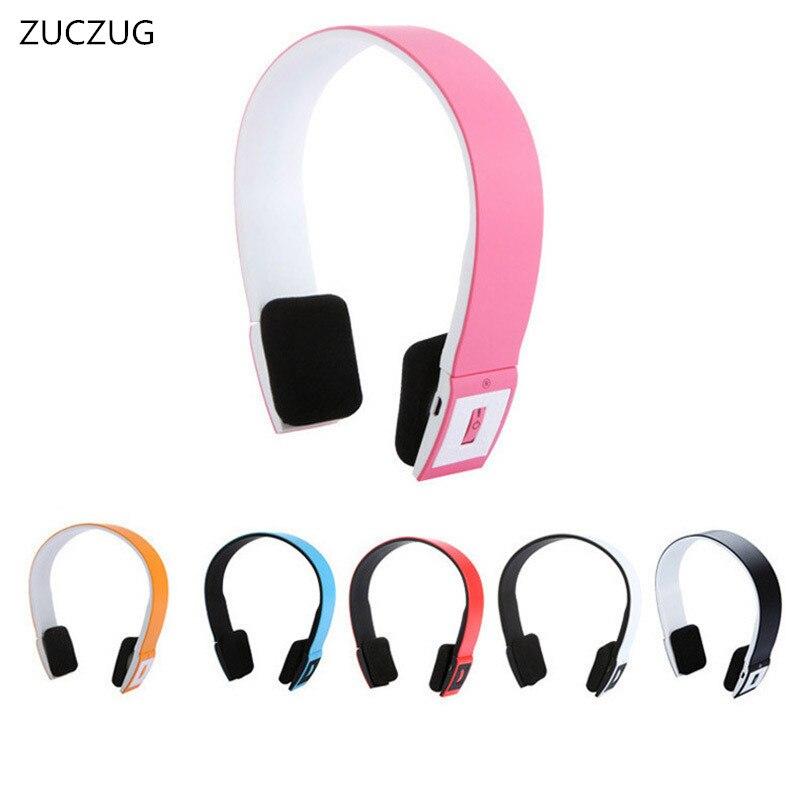 ZUCZUG Smart Bluetooth 4 0 Headphone Adjustable Wireless Earphone Headphones Bluetooth Headset with MIC For IPhone