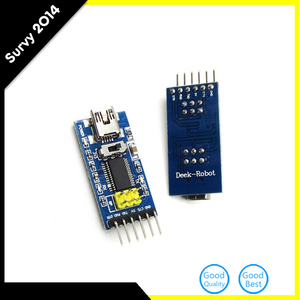 Основная плата для FTDI FT232RL USB в TTL последовательный IC адаптер конвертер модуль для Arduino 3,3 V 5V FT232 переключатель