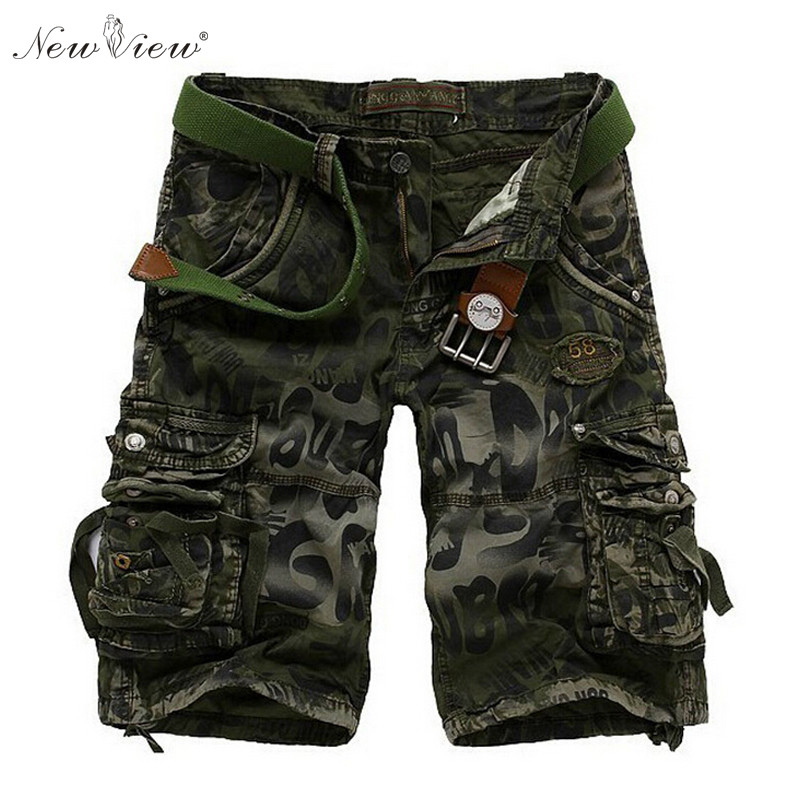 2017 Summer Men Shorts Camouflage Army Green Short Male Casual Half Length Fashion Trousers Mens Shorts Brand Clothing