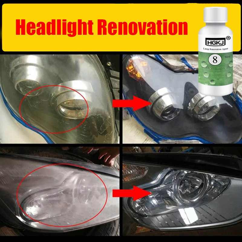 Detail Feedback Questions About Car Headlight Repair Agent