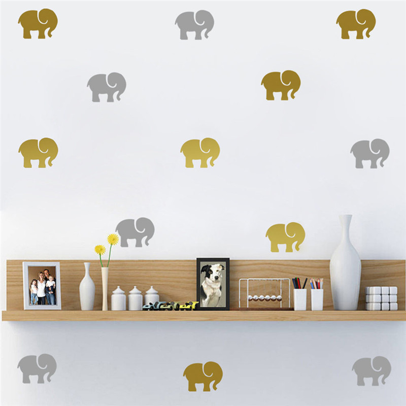 9pc set home decor living room wall stickers cheap diy - Cheap wall decals for living room ...