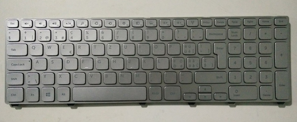 New notebook laptop keyboard for Dell Inspiron 15 7537 7737  SW/SWISS layout  new laptop keyboard for medion md97789 md97791 md97827 md97828 md97829 md97837 md97869 md97883 md97884 sw switzerland