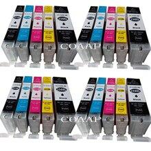 цена на 20 Compatible PGI 250 CLI 251 ink cartridge For canon PIXMA MG5420 MG5422 MG5520 MG5522 MG6420 IP7220 MX722 MX922 IX6820 printer