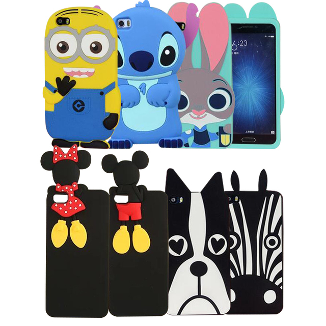 another chance ba229 67d61 US $3.6 15% OFF|3D cartoon Rabbit Girl For Xiaomi Mi 5 case soft silicone  cover case for xiaomi mi5 cases and covers for mi 5-in Fitted Cases from ...