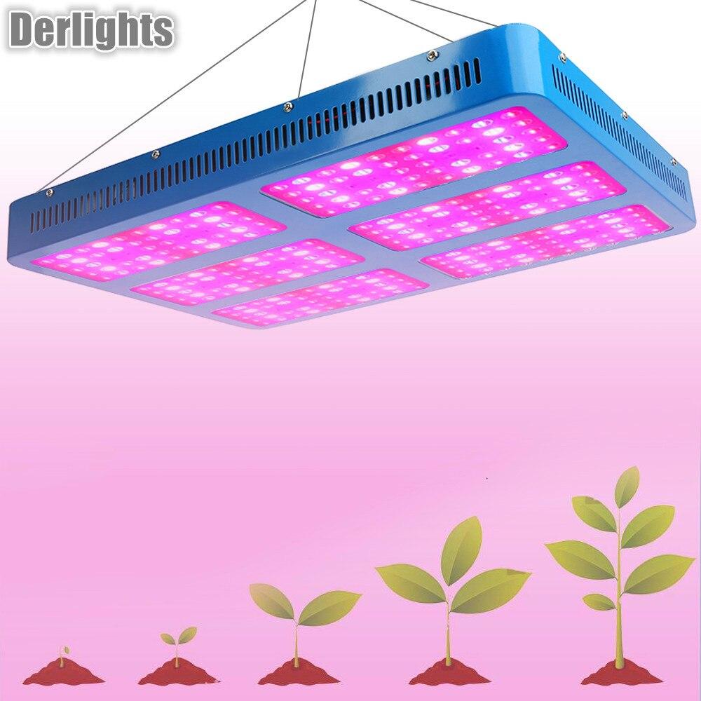 Светодио дный 3000 Вт светодиодные лампы для роста растений полный спектр цветок Крытый лампы парниковых гидропоники системы за рубежом скла...