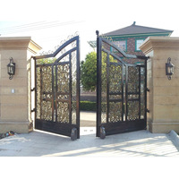 Giant PKM A01 Rolling Dual Swing Gate Opener for Gates up to 18 Feet Long 900 Pounds