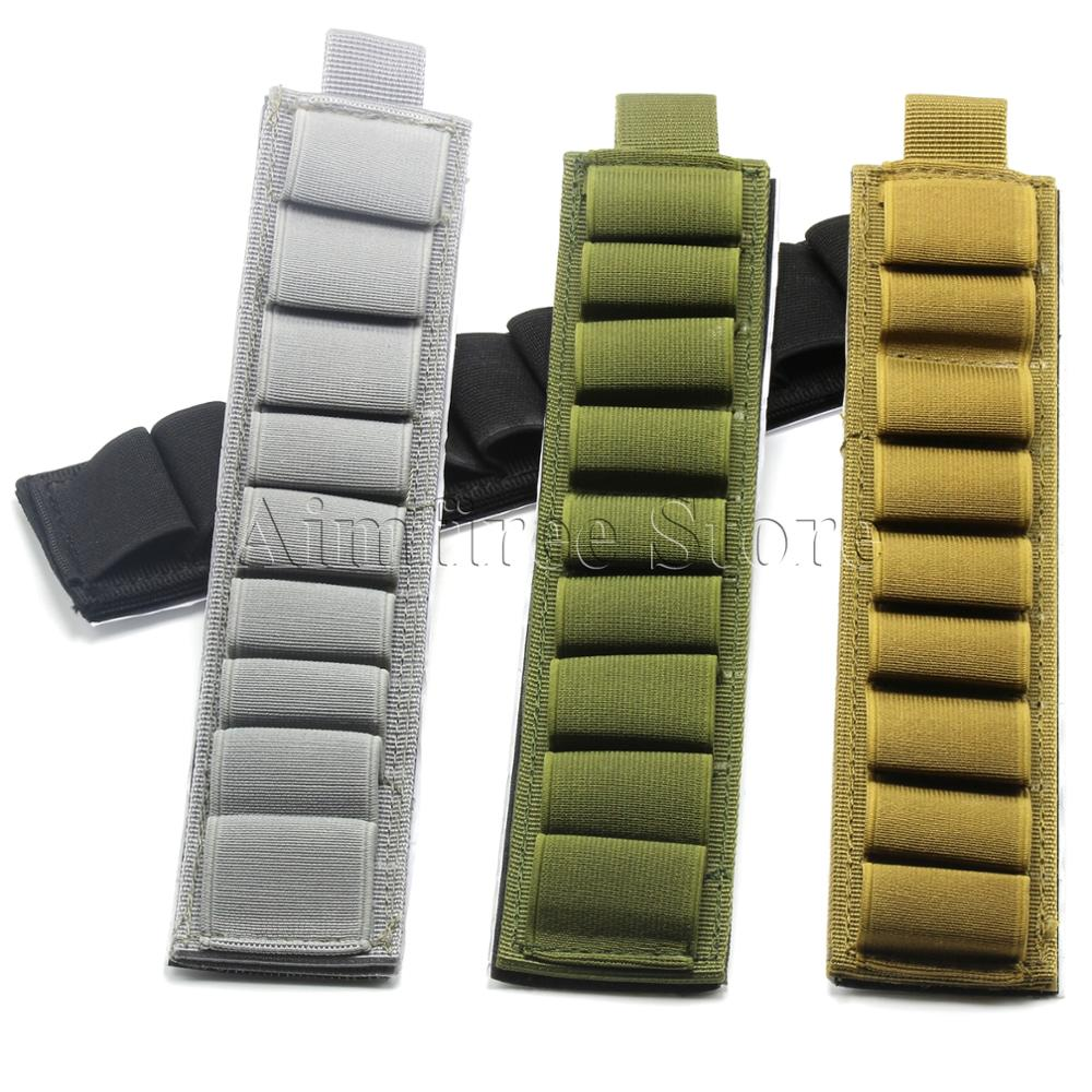 Tactical Buttstock 12 Gauge 9 Rounds Shotgun Shell Holder Cartridges Diagram With Adhesive Back Gun Accessories In Pouches From Sports Entertainment On