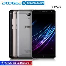 Doogee X7 pro mobile phones 6.0Inch HD 2.5D IPS 2GB RAM+16GB ROM Android6.0 Dual SIM MTK6737 Quad Core 8.0MP 3700mAH WCDMA LTE