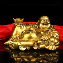 купить Feng Shui Happy laughing Figurine Buddha Statue, Bonze,Bring Luck and Happiness to Your Home по цене 1898.77 рублей