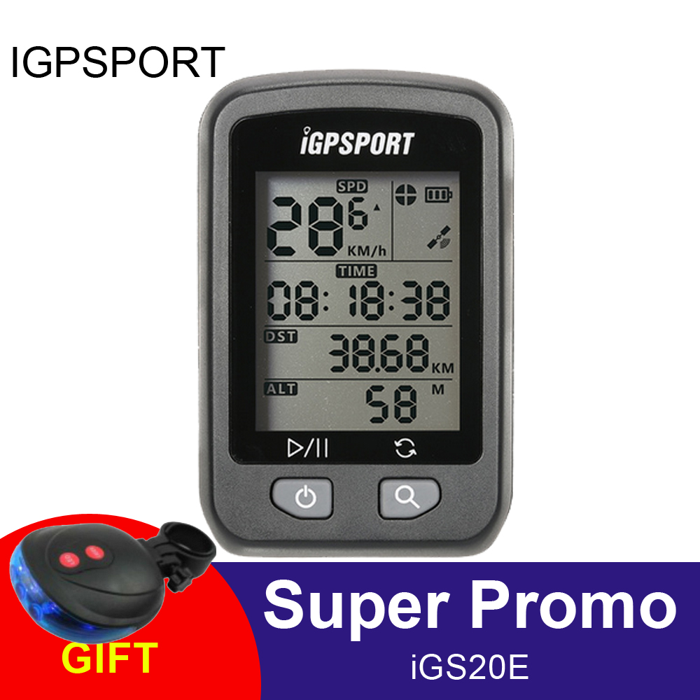 iGPSPORT GPS Computer Wireless IPX6 Waterproof Bicyle Computer Auto Backlight Screen Bike Cycling Cycle Odometer with
