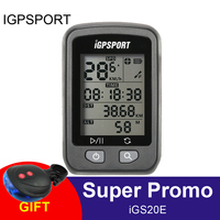 iGPSPORT GPS Computer Wireless IPX6 Waterproof Bicyle Computer Auto Backlight Screen Bike Cycling Cycle Odometer with Mount