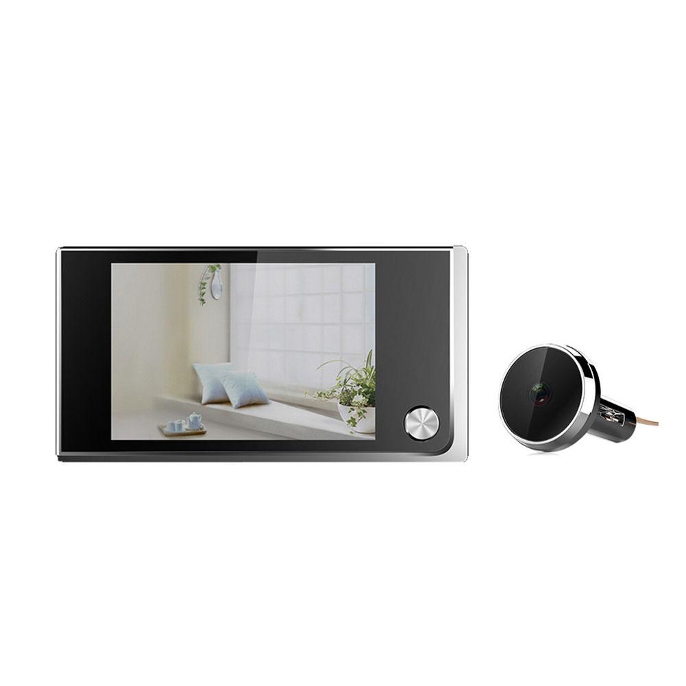 HD Smart Video Doorbell Security Camera Video Door Electronic Cat Eyelet for HomeHD Smart Video Doorbell Security Camera Video Door Electronic Cat Eyelet for Home
