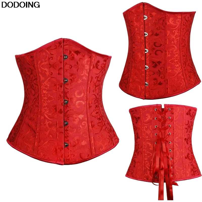 cadab48e173 Corset Underbust Top Selling US Europe Style Beauty Sexy Female Intimates  Cincher High Quality Corset Jacquard