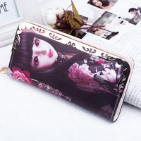PU Leather Wallet Female 2017 Korean Version Long Wallet Beautiful Girl Portefeuille Femme Ladies Purse Women