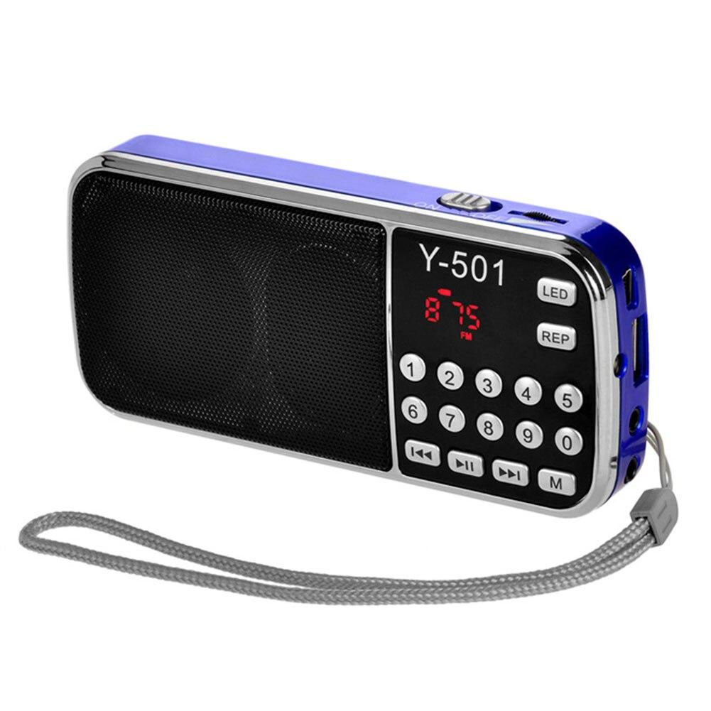Tragbares Audio & Video Digitale Picks Ältere Tragbare Plug-in Karte Kleine Lautsprecher Radio Stereo Mp3 Musik Player Lcd Radio Fm Einfach Zu Verwenden